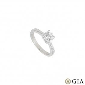 Laing Platinum Diamond Ring 1.02ct G/SI1